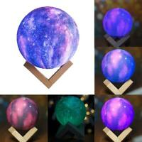 3D USB LED Magical Moon Night Light Moonlight Table Desk Moon Lamp Dec New