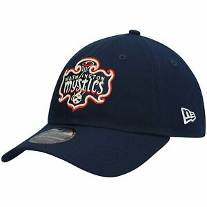 Washington Mystics New Era Rebel Edition 9TWENTY Adjustable Hat - Navy