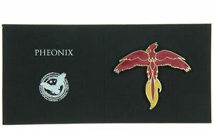 Harry Potter Wizarding World FAWKES PHEONIX Pin Badge Loot Crate Exclusive