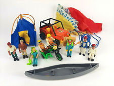Fisher Price Adventure People Lot Trailblazer Daredevil Cycle Race Team Campers
