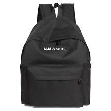 Men Women Vintage Canvas Backpack Rucksack School Satchel Travel Hiking Book Bag