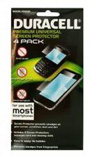 Duracell Universal Smartphone Screen 4 Sheet Protector Set