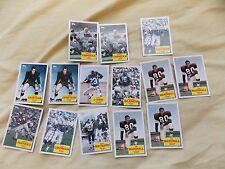 2009 Topps Flashback Football Card Lot of 14 Blanda Haynes Maynard Marshall