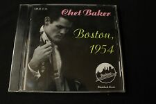 Chet Baker - Boston, 1954 (CD, 1992, Uptown Records) Flashback Series BRAND NEW