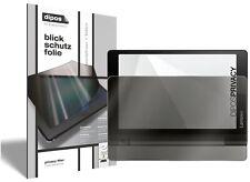 Lenovo Yoga Tablet 3 (8 Zoll) (vertical) Protector de Pantalla Protección dipos
