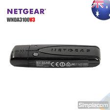 NETGEAR WNDA3100 v3 RangeMax N600 Dual Band Wireless N WiFi Adapter Card 802.11n