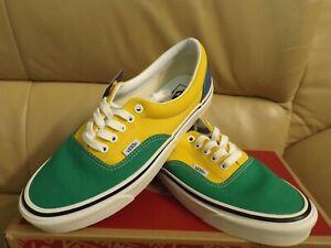 Vans Era 95 DX Anaheim Factory Men's Size 9 Skate Shoes Green/Yellow VN0A2RR1VY9