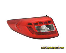 TYC NSF Left Outer Side LED Tail Light Assembly for Hyundai Sonata 2015-2016