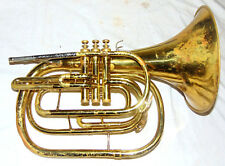 King 1122 Marching French Horn Mellophone Key Of Bb