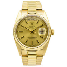 Rolex President Day-Date 18038 in 18k Yellow Gold Circa 1981 - 36mm