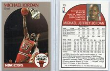 MICHAEL JORDAN 1990 Hoops Sears Superstars #13 Basketball Card - Chicago Bulls