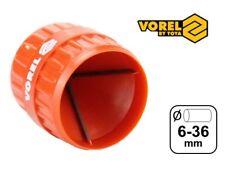Rohrentgrater innen außen 6-36 mm Entgrater Handentgrater Rohr VOREL