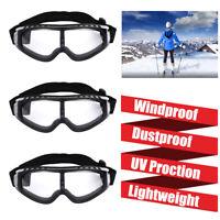 3x Winter Snow Skiing Eyeglasses Sunglasses Snowmobile Anti Wind Glasses Goggles