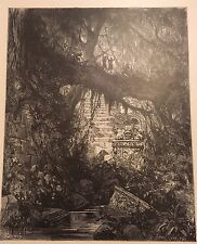 THE WOOD OF BLOOD IN ATALA BY GUSTAVE DORE c.1889 PRINT