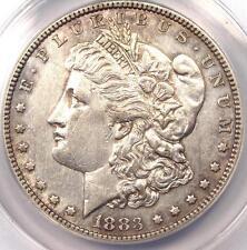 1883 Sextupled Stars Morgan Silver Dollar $1 VAM-10. ANACS AU55 Det - $900 in AU