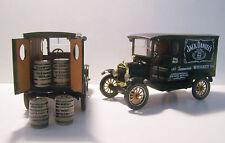 1925 Ford Model T Jack Daniels Wagon Black Diecast Custom Graphics 1:24 Scale