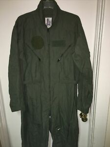44R USAF Flight Suit Sage Green Fully Operational