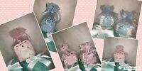 12 pieces of mesh string basket organza pouch baby shower favors