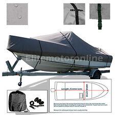 Formula 23 Cuddy Cabin I/O Deluxe Trailerable Storage Boat Cover Grey