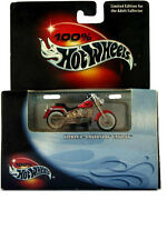 '00 100% Hot Wheels Harley-Davidson Fatboy Red
