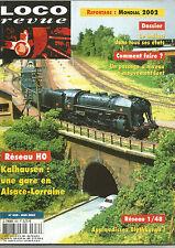 LOCO REVUE N° 659 RESEAU HO : KALHAUSEN GARE EN ALSACE-LORRAINE / BLYTHBURGH