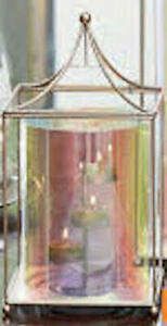 PARTYLITE Champagne Rainbow Lantern   ***BRAND NEW IN BOX*** ++FREE SHIPPING++