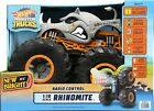 Remote Control Hot Wheels Monster Truck Rhinomite with Vapor rate 1:10 for KID