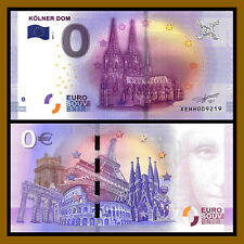 Zero 0 Euro Souvenir, 2017 Kolner Dom Germany Unc