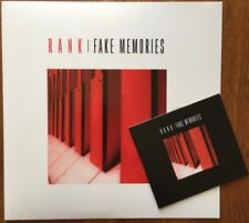 RANK Fake Memories 2018 french Post punk Wire Cure Joy Division LP + CD