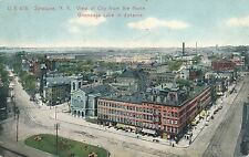 SYRACUSE NY – View of the City from the North – Onondaga Lake in Distance - 1907