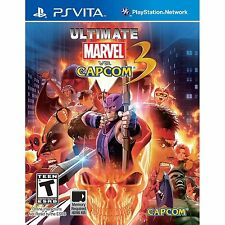 Ultimate Marvel vs. Capcom 3 [Sony PlayStation Vita PSV, Arcade Fighting Game]