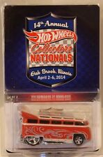 Hot Wheels 14th Nationals/Convention Volkswagen T1 Drag Bus VW Only 2400 Made