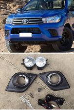 (#193) Toyota Hilux 2015 to 2018 Fog Lights Fog Lamps Spot Driving Lights