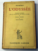 Vintage 1957 French Book Homere L'Odyssee The Odyssey