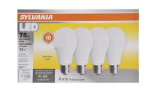 Sylvania 78097 Non Dimmable LED Light Bulb, 12 W