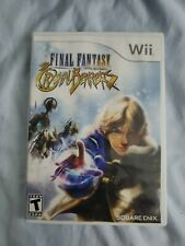 Final Fantasy Crystal Chronicles The Crystal Bearers Nintendo Wii 2009 Complete