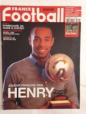 FRANCE FOOTBALL 19 DECEMBRE 2006 THIERRY HENRY JOUEUR FRANCAIS DE L'ANNEE