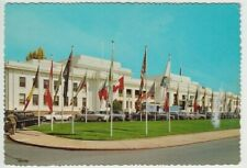 Real photo postcard Old Parliament House Canberra by Curteicolor by John Sands