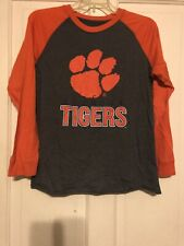Clemson Tigers Long Sleeve Size Youth XL