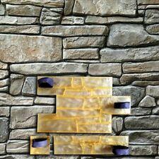 SET 3pcs Concrete texture printing stamps Stone Decorative POLYURETHANE mat Chip