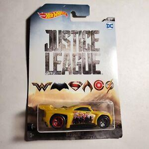 DC Justice League Hot Wheels Bassline #7 New