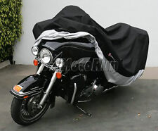 XXXL Waterproof Motorcycle Cover For Harley Electra Glide Ultra Classic FLHTCU