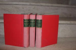 Thackeray / The history of pendennis (in 3 volumes) n°17/ 1000 ex