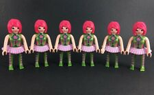 Playmobil Dwarf Knight Figure Custom Canon 6842 Klicks Wizard 6 Dancers Set Toys