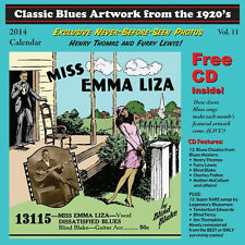 Classic Blues Artwork From The 1920s 2014 CALENDAR+CD NEW SEALED Charley Patton