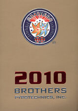 2010 Brothers Pyro fireworks catalog NEW