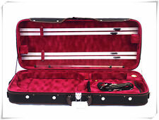 Pro. Wooden Double 4/4 Violin / Viola case(Adjustable)