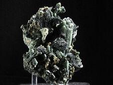 Hematite Crystals & Bright Green Quartz  Mineral From Inner Mongolia China!