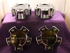 LIMITED CHROME CUSTOM Wheel Center Caps (SET OF 4) P/N # LZ-053-5H-2 S805-11