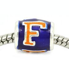 Florida Gators European Bead Charm - University Of Florida Football Team Logo